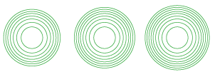 7-8-9 concentric circles